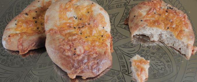 Brød med ost og chili