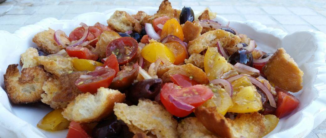 Toscansk brødsalat