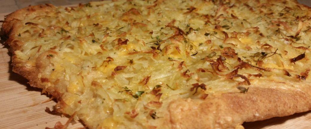 Pizza bianca de patata