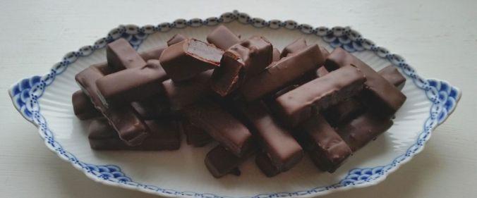 Chokolade kaffe karameller