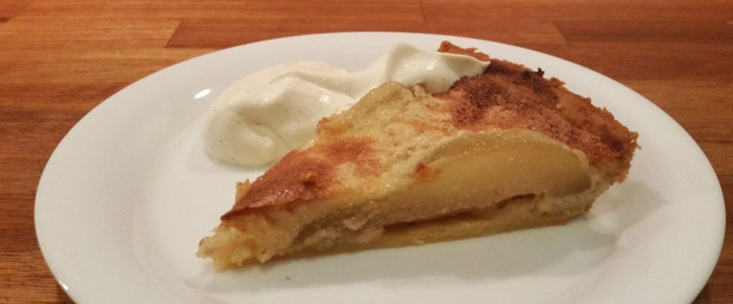 pæretærte med marcipan og ingefær_B1040