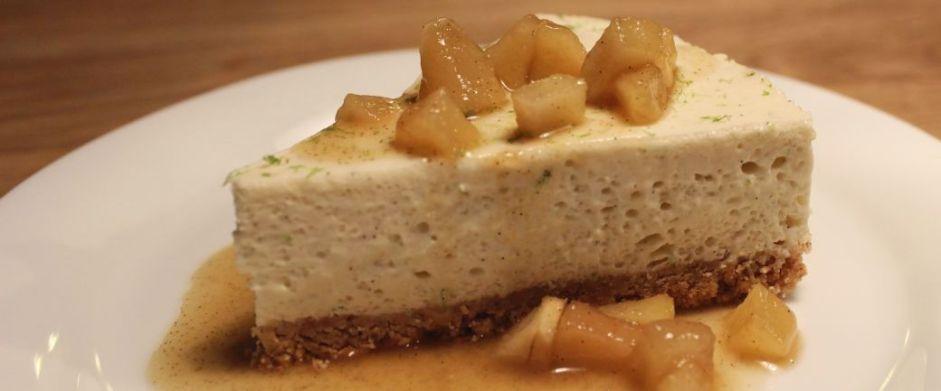Ostekage med lime og pære_B1040
