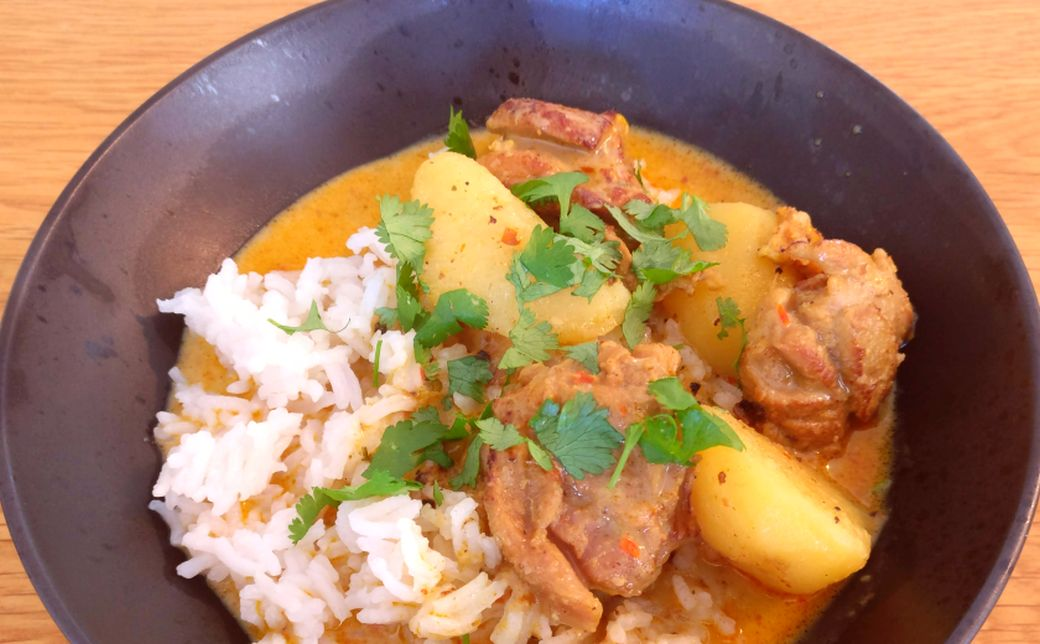 Peggys chicken curry_1040